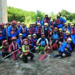 Rafting sul fiume Tanagro 2017