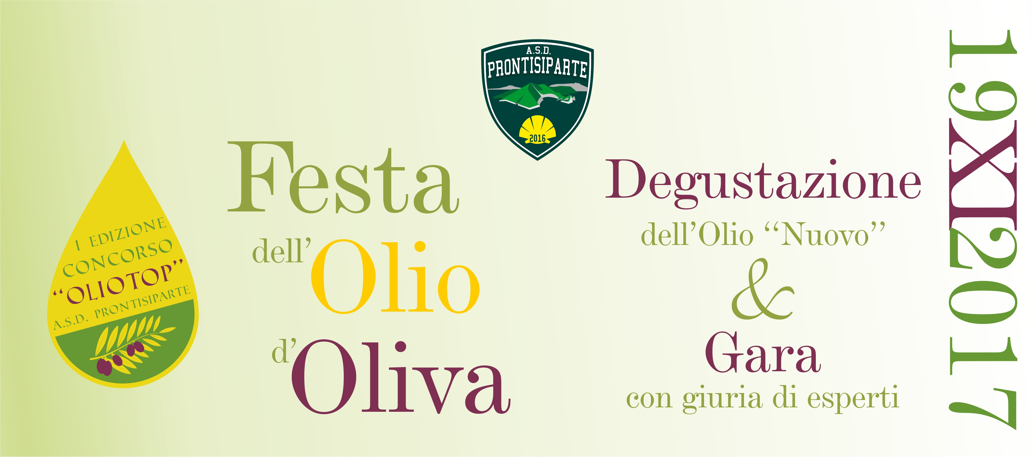 """Festa dell'Olio d'Oliva – 1° edizione """"OLIOTOP"""""""